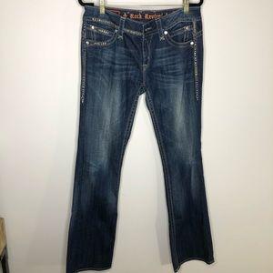 Rock Revival Gwen Bootcut Jeans Size 32